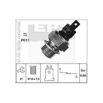 Spínač kontrolního světla tlaku oleje EPS