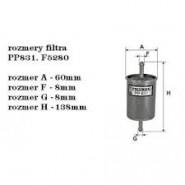 BOSCH0 450 905 280: palivovy filtr