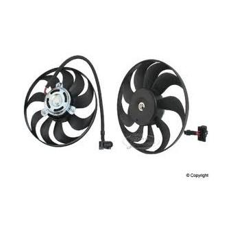 Ventilátor 1.6, 1.8 20V, 1.9 TDI, +/-AC org.